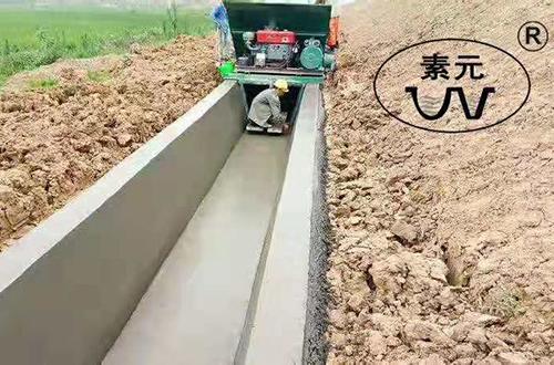 梯形渠成型机